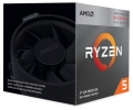 Процессор AMD Ryzen 5 3400G AM4 (YD3400C5FHBOX) (3.7GHz/Radeon RX Vega 11) Box