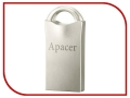 USB Flash Drive 64Gb - Apacer AH117 USB 2.0 Silver AP64GAH117S-1 модель AH117 AP64GAH117S-1