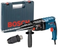 Перфоратор Bosch модель SDS-PLUS GBH 2-24 DF 06112A0400 (790 ВТ, 2.7 ДЖ, 2,8 КГ, 3 РЕЖ, КЕЙС +ПАТРОН SDS-PLUS)