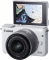 Фотоаппарат Canon EOS M10 kit 15-45 IS STM White