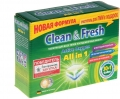 Таблетки CLEAN and FRESH All in 1 30 шт