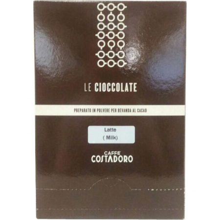 Costadoro La Cioccolate Milk Chocolate 25x0.030g