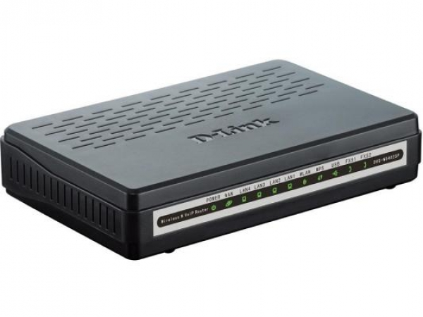 Маршрутизатор D-Link DVG-N5402SP/1S/C1A 1-ports FXS RJ-11 ports 1 x 10/100 port WAN 4 10/100 LAN Wireless Internet Router with VoIP Gateway