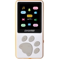 MP3 плеер Digma модель S4 8GB WHITE-ORANGE