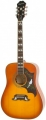 Epiphone Dove Pro Acoustic/electric W/fishman Vintage Brown Sunburst