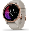 Часы Garmin модель VENU, GPS, WI-FI, LIGHT SAND/ROSE GOLD, E.EU (010-02173-23)