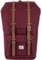 Herschel 10014-00746 windsor wine/tan synthetic leather