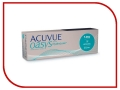 Контактные линзы Johnson & Johnson Acuvue Oasys 1 Day with HydraLuxe (30 линз / 8.5 / -7.5) Johnson & Johnson