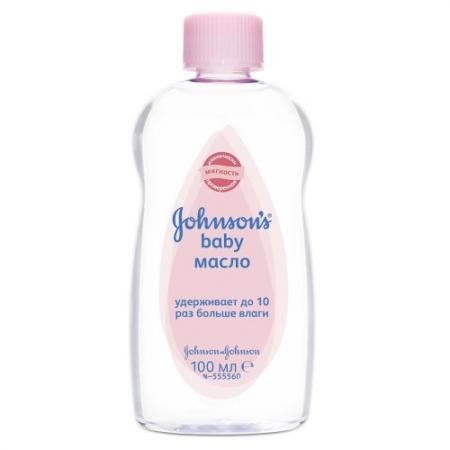 Johnsons baby Масло 100мл