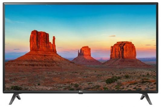 "Телевизор LED LG 43"" 43UK6300PLB черный/Ultra HD/100Hz/DVB-T2/DVB-C/DVB-S2/USB/WiFi/Smart TV (RUS)"
