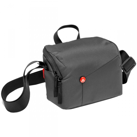 Сумка премиум Manfrotto NX Shoulder Bag CSC Grey V2 (MB NX-SB-IGY-2)
