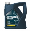 Моторное масло Mannol Outboard Universal M108B 1 л