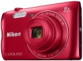 "Фотоаппарат Nikon Coolpix A300 Red <20.1Mp, 8x zoom, SD, Wi-Fi, BT, USB, 2.7"">"