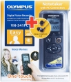 Olympus VN-541PC + E39 Earphones (черный)