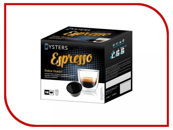 Капсулы Oysters Dolce Gusto Espresso 16шт