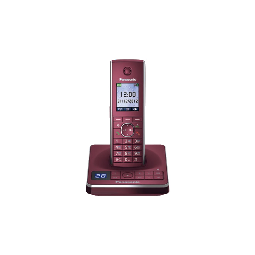 Радиотелефон Panasonic KX-TG8561 RUR Red