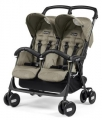 Коляска для двойни Peg-Perego Aria Shopper Twin (geo beige)
