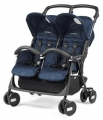 Коляска для двойни Peg-Perego Aria Shopper Twin (geo navy)