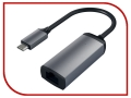 Сетевая карта Satechi Aluminum Type-C to Gigabit Ethernet Gray ST-TCENM