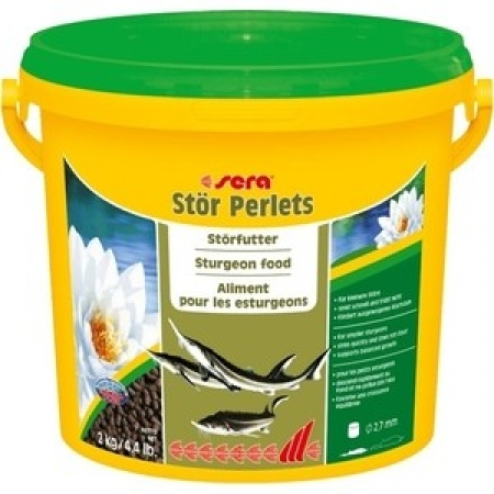 Корм SERA модель STOR PERLETS STURGEON FOOD ГРАНУЛЫ ДЛЯ ОСЕТРОВ 3,8Л (2КГ)