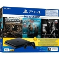 Sony модель PLAYSTATION 4 1TB + ИГРЫ DAYS GONE, GOD OF WAR, ОДНИ ИЗ НАС