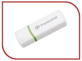 Карт-ридер Transcend Compact Card Reader P5 TS-RDP5W White