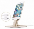 Док-станция Twelve South HiRise Deluxe для iPhone iPad Mini золотистый 12-1436