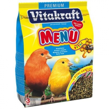 VITAKRAFT MENU для канареек 500г