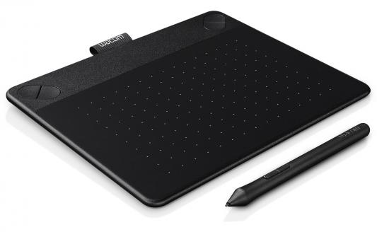 Графический планшет Wacom Intuos Photo PT S CTH-490PK-N черный USB