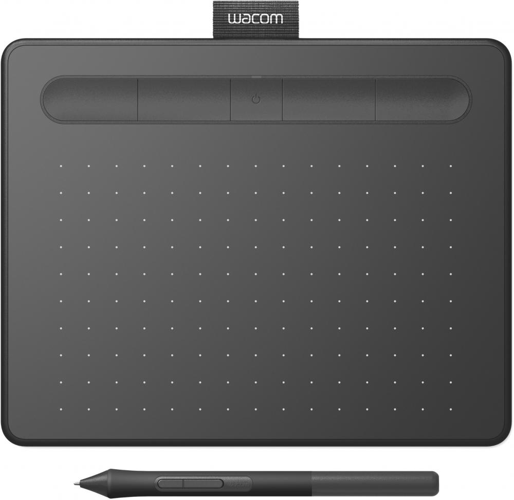 Графический планшет Wacom Intuos Pro Paper PTH-660P-R#PAINTER2018 Bluetooth/USB черный