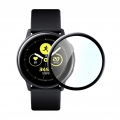 Защитная пленка Zibelino TG для Samsung Galaxy Watch Active 2 R830 2019 Full Screen Black (ZTPFS-SAM-R830)